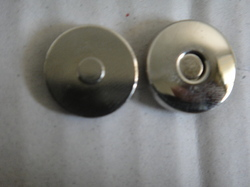 Slim Magnetic Button