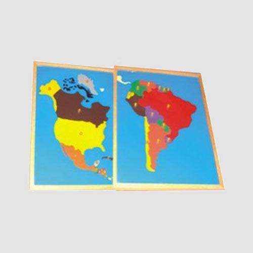 America Map Puzzle