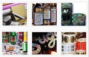 Transfer Metallized - Holographic Paper & Boards