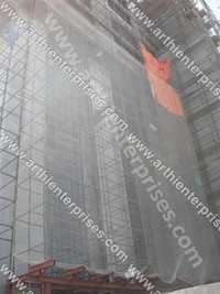 Scaffolding Net For Glass Protection