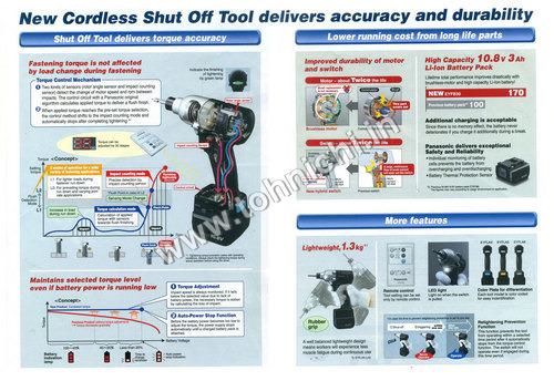 New Cordless Shut Off Tools