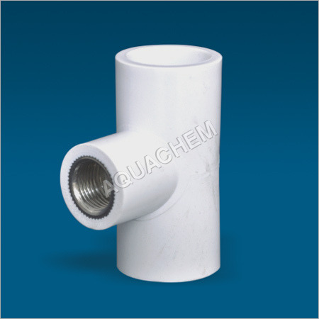 UPVC Reducer Brass Tee