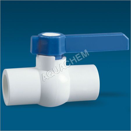 UPVC Solid Long Handle Ball Valve