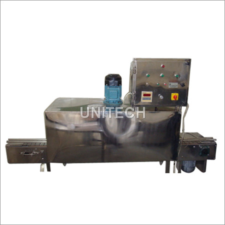SS Bottle Drying Conveyor