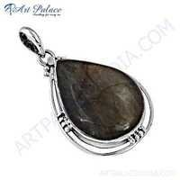 Hot Sale Jewelry,925 Sterling Silver Labradorite Gemstone Pendant