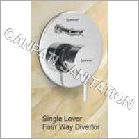 4 Way Shower Diverter florantine series