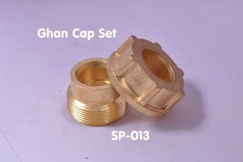 Brass Ghan Cap Set