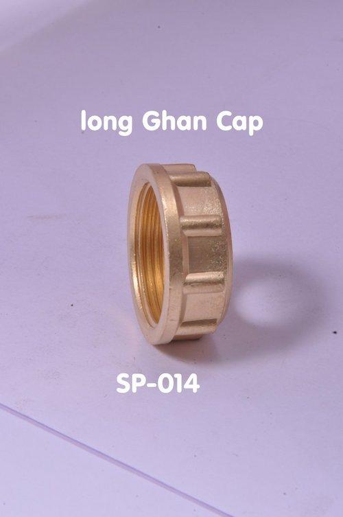 Brass long Ghan Cap