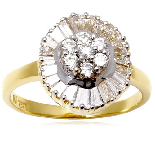 designer diamond rings, flower diamond gold ring from india, indian gold ring designs