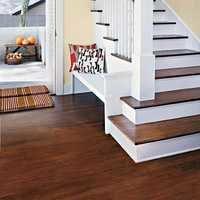 Hard wooden flooring