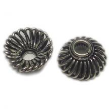 silver bead Caps
