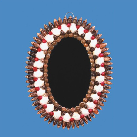 Seashell Wall Hanging Mirror