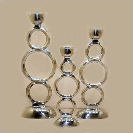 Circle Design Candle Holder