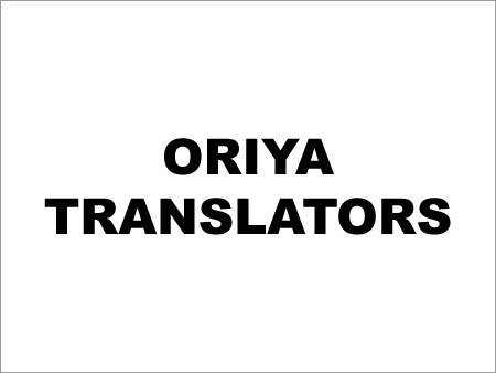 Oriya Translators In Chennai