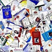 Plastic ID Card Printing Work