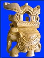 Elephant Hand Carved Statue