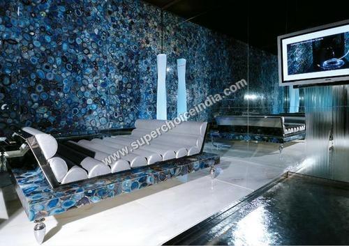 Blue Agate Stone