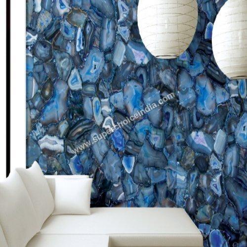 Tumbled Blue Lace Agate