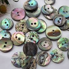 Abalone Buttons