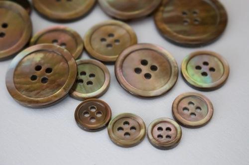 Brown Mop Buttons