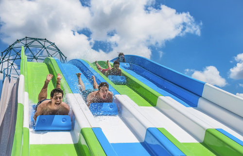 Multi Racer Water Slide