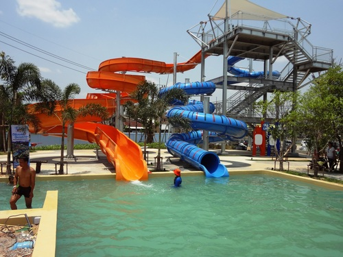 Open Water Slides
