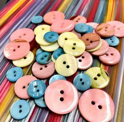 Designer Shell Buttons