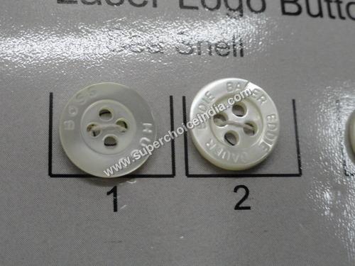 Laser Logo Buttons