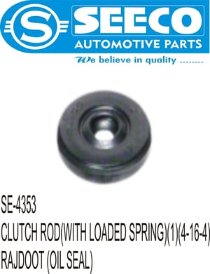 CLUTCH ROD (WITH LOADED SPRING)