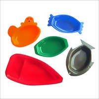 Plastic Tikka Platters