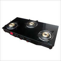 Three Burner  Metal Gas Stove