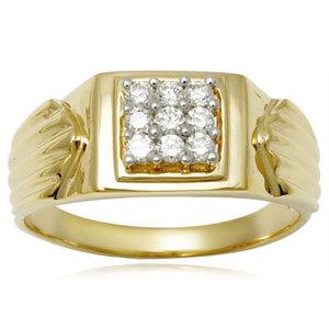 Men's Diamond Ring Supplier