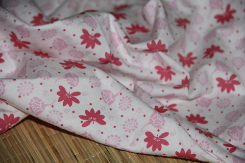 Organic cotton printed fabrics