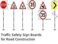 Traffic Safety Sign Boards