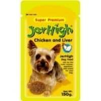 012013 JERHIGH CHICKEN & LIVER IN GRAVY DOG FOOD