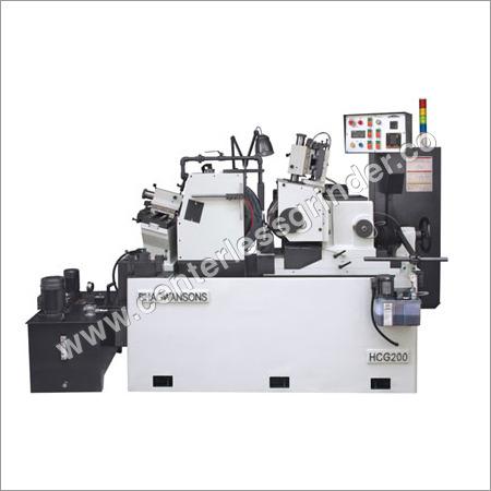 Hydraulic Centerless Grinder-HCG 200