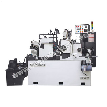 Hydraulic Centerless Grinder Machine