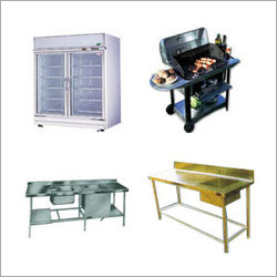 Mobile Barbecue Trolley