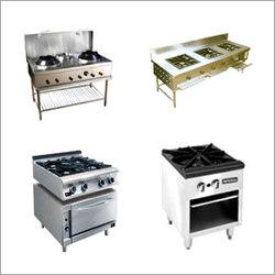Four Burner Chinese Cooking Range