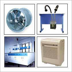 Tube Axial Exhaust Fan  & Fume Extraction System