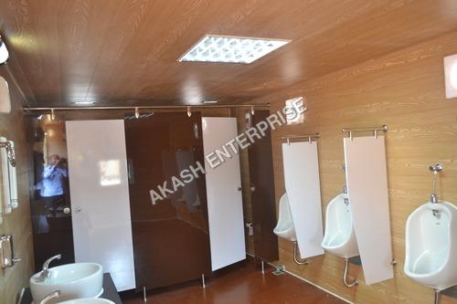 Cubicle Bathroom