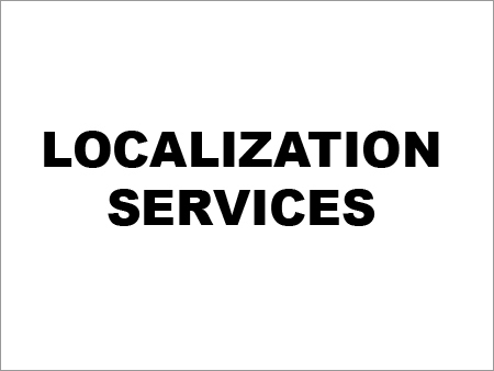 Localization Services In Chennai
