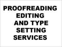 Proof Editing Services In Hyderabad