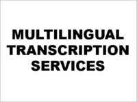 Multilingual Transcription Services In Chennai