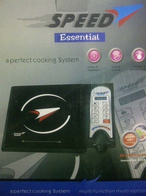speed induction cooker nob