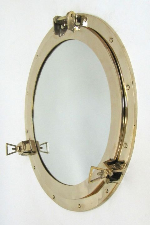 NAUTICAL BRASS PORTHOLE 21