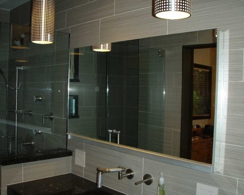 Square Shaped Wall Mirror