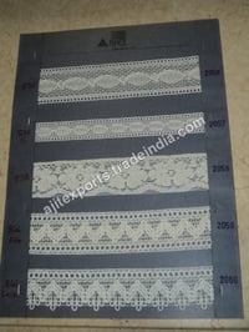 Multi Colour Embroidered Laces