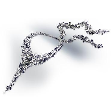Platinum Necklace Set
