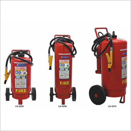 Cartridge Trolley Mounted Fire Extinguishers